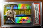 Stan Musial 2003 Playoff Absolute Signing Bonus 1 5 Autographed 1 1 PSA 8
