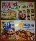 Lot of 4 Cookbooks 3 Weight Watchers 1 Taste of Home Points Plus Diet Recipes