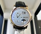 A.Lange & Sohne  Lange One Moonphase 18K Rose Gold-38.5mm-109.032- Box/Papers-