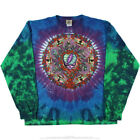 GRATEFUL DEAD CELTIC MANDALA TIE DYE LONG SLEEVE 2 SIDED SHIRT M L XL XXL Garcia
