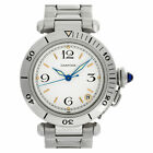 Cartier Pasha 35 102443 Stainless Steel White dial 35mm Automatic watch