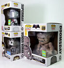 FUNKO POP Doomsday Superman False God B&W Wonder Woman Exclusives Pop! HEROES