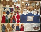 Nativity Scene Fabric Panel VIP Cranston Creche Jesus Cut Sew Christmas Church