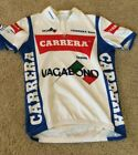 Short Sleeve Cycling Bike Jersey Carrera Jeans Selle Italia Italy Mens Large