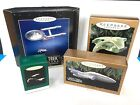 HALLMARK KEEPSAKE STAR TREK ORNAMENT LOT  ALL MIB