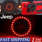 Tire LED Lamp Wheel 3rd Brake Decor Light For Jeep Wrangler 07-15 JK TJ YJ 86-16