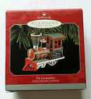 1998 Hallmark Keepsake Ornament Tin Locomotive Anniversary Edition