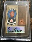 2005 Donruss Diamond Kings Ernie Banks Auto 5 Chicago Cubs