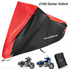 XXXL Heavy Duty Motorcycle Rain Cover For Harley Davidson Electra Glide Classic