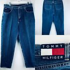 Tommy Hilfiger Mens Jeans Vintage 90s 38 x 32 USA Patch Flag Freedom Logo 90s