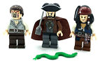 LEGO LOT OF 3 PIRATES OF THE CARIBBEAN MINIFIGURES JACK SPARROW WILL TURNER FIGS
