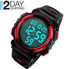 Men Digital Sports Watch LED Military 50M Waterproof Watches Outdoor Electronic