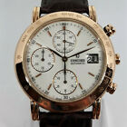 Concord Chronograph Automatic Mens Watch SWISS Rose Gold 18K