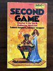 Book Second Game Vintage Sci Fi First Daw Edition 1981