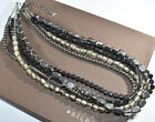 SILPADA N1936 Hematite Glass Sterling Silver Necklace