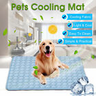 Dog Cooling Mat Pet Cat Chilly Non Toxic Summer Cool Bed Pad Cushion Indoor US