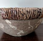 gorgeous decorative center piece bowl made with paper  banana leaves gift idea