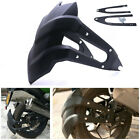 Universal Motorcycle Mudguards Wheel Cover Rear Fender Splash Guard with Bracket