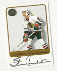 Stan Mikita 2001-02 Fleer Greats of the Game Autograph Card Auto HOF Blackhawks