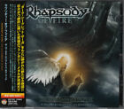 RHAPSODY OF FIRE / THE COLD EMBRACE OF FEAR JAPAN CD OOP W/OBI