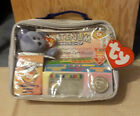 Ty Beanie Babies 1999 new Official Club Platinum Edition Membership Bag  w/coin