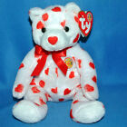 Ty Beanie Baby Heartthrob Valentine's Day Bear Beanie of The Month February 2004