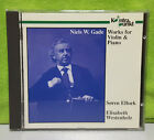 Niels W. Gade Works for Violin & Piano / Elbaek, Westenholz Soren Elbaek CD