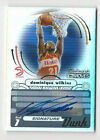 Dominique Wilkins 2006-07 Topps Trademark Moves Autograph Card Auto HOF 19