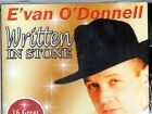 EVAN O'DONNELL - WRITTEN IN STONE - CD - Free Post To UK