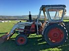 David Brown 990 Classic Vintage tractor With PowerLoader 4000 HOURS HUDDERSFIELD