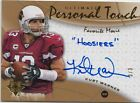 KURT WARNER 09 UPPER DECK ULTIMATE PERSONAL TOUCH #ed 3 3 AUTO &