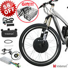 48V 1000W 26 Rear Wheel Electric Bicycle Motor Conversion Kit Bike Cycling Hub