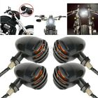 4x Amber Turn Signals Bulb Fit For Harley XL Sportster 883 1200 Custom