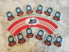 Thomas The Train Tank Engine Cupcake Wrappers  Toppers Kids Birthday Party 24pc