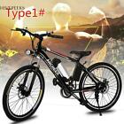 25 187 inch Wheel Aluminum Alloy Frame Folding Mountain Bike H1PS LOT