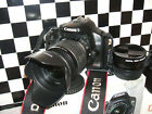 Canon EOS 450D 12.2MP Digital SLR Camera - with THREE LENSES