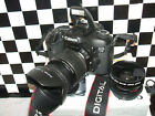 Canon EOS 7D 18.0 MP Digital SLR Camera - + THREE LENSES=PROFESSIONAL-USE