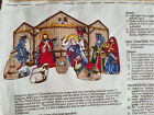 Nativity Scene Fabric Panel VIP Cranston Keepsake Crafts NEW Religious Bible