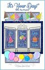 ITS YOUR DAY MACHINE EMBROIDERY PATTERN w CD from Janine Babich Designs NEW