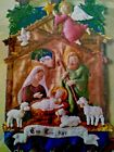 Bucilla Manger Nativity Wall Hanging Felt Appliqu Kit 2006
