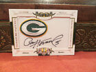 National Treasures Signature Patches Autograph Packers Paul Hornung 14 26 2008