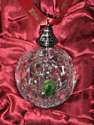 Waterford LISMORE Annual Crystal 2012 BALL ORNAMENT NEW Box