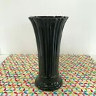 Fiestaware Black Medium Vase Fiesta Retired Flared Flower Vase