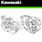 NEW 2011 - 2016 GENUINE KAWASAKI KX 250F ENGINE CRANK CASE SET 14001-0639