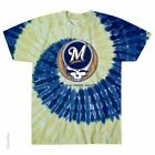GRATEFUL DEAD MILWAUKEE BREWERS STEAL YOUR BASE TIE DYE SHIRT S M L XL 2X Garcia