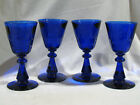4 STEUBEN HAWKES FREDERICK CARDER ARMORIAL CREST GOBLETS