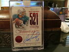 Panini Flawless Ruby Benchmarks On Card Autograph Dolphins Dan Marino 15 15 2014