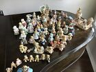 Cherished Teddies Large lot of 66 Different Figurines Teddy Bears 1990's F/S