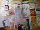 Big Lot of Scrapbooking Supplies Stickers Embellishment Pages 37 Pieces A