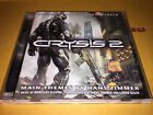 CRYSIS 2 video game SOUNDTRACK cd HANS ZIMMER slavov tilman sillescu LORNE BALFE